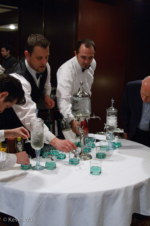 Absinth, The Green Hour at Morton's The Steakhouse